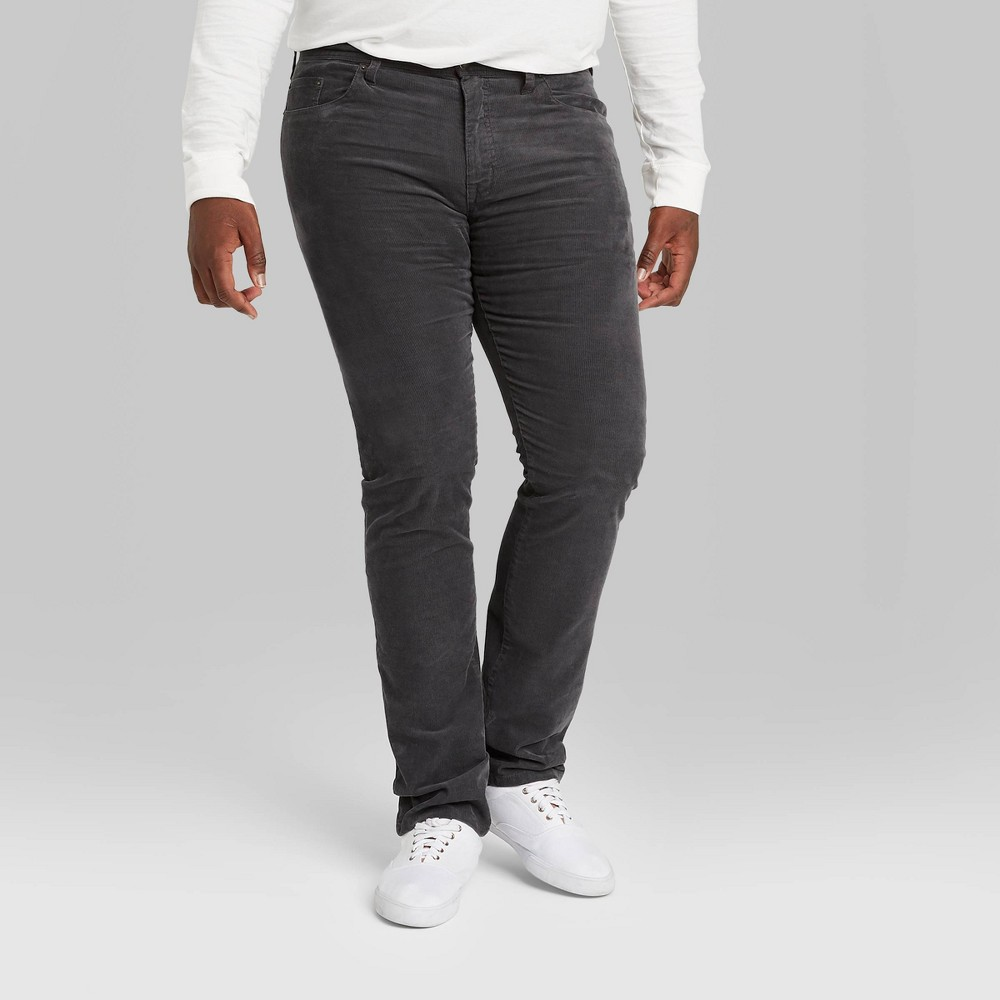 Reviews Men's Big & Tall Slim Fit Corduroy 5-Pocket Pants - Goodfellow & Co™