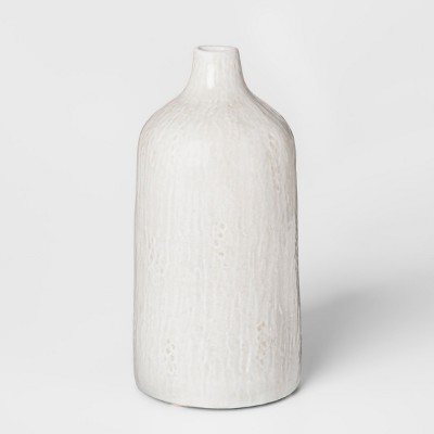 Terracotta Vase Medium - White/Gray - Threshold™