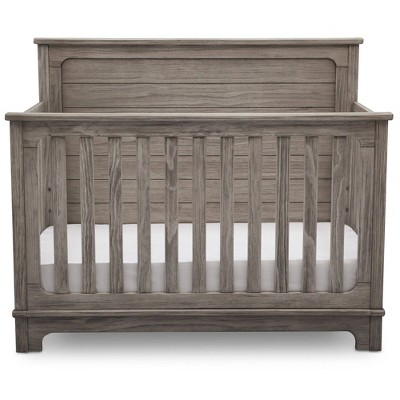 Simmons Kids Slumbertime Monterey 4-in-1 Convertible Crib - Rustic White