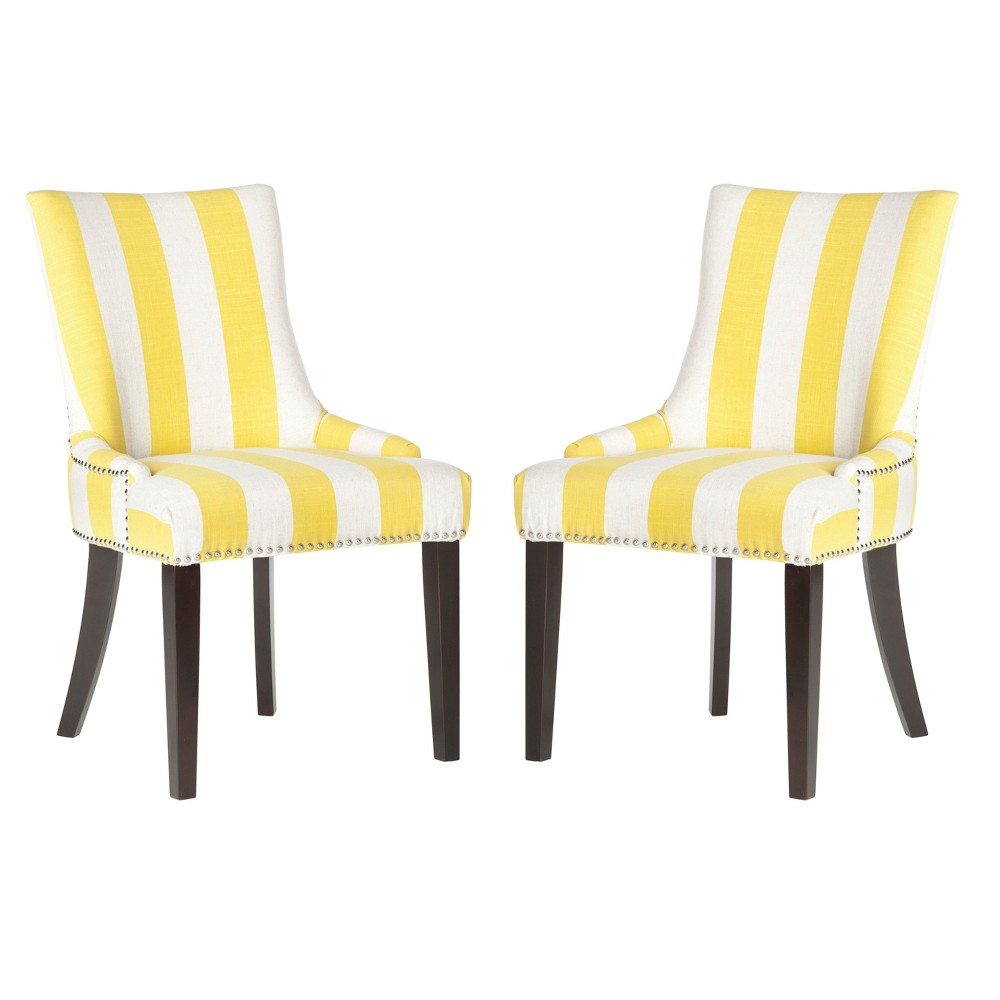 Lola Dining Chair - Yellow (Set of 2) - Safavieh