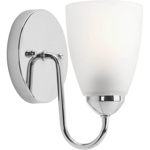 Progress Lighting P2706 Gather Single Light Bathroom Fixture