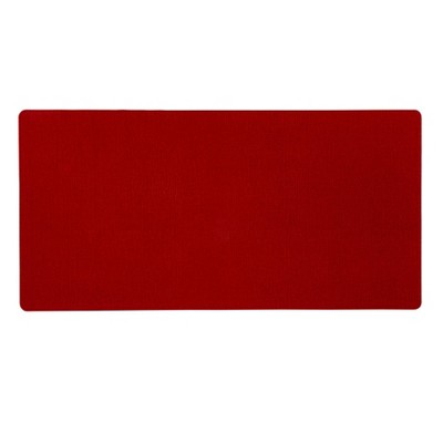"40"" x 20"" Neoprene Comfort Kitchen Rug Red - Threshold™"