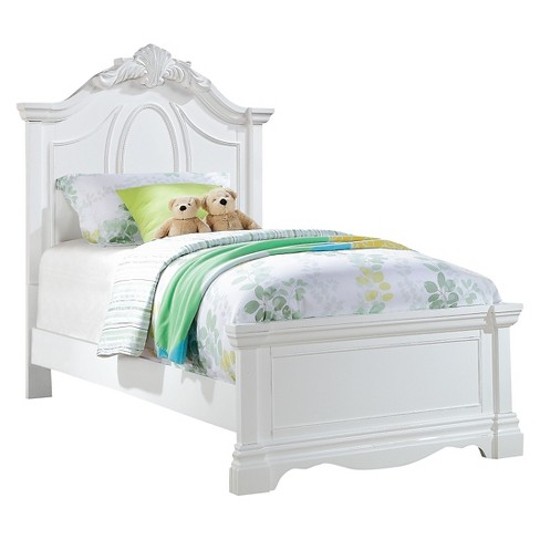 Kids Bed Wood/White (Twin) - Acme - image 1 of 2
