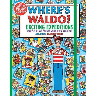 Where's Waldo? Exciting Expeditions : Play! Search! Create Your Own Stories! - (Paperback) - by Martin Handford