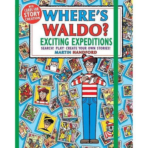 Where's Waldo? Exciting Expeditions : Play! Search! Create Your Own Stories! - (Paperback) - by Martin Handford - image 1 of 1