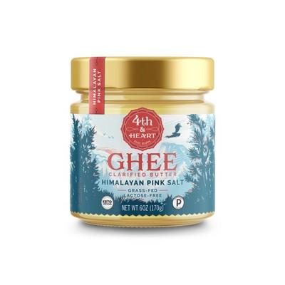 4th & Heart Himalayan Pink Salt Ghee - 6oz