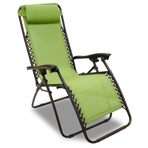 Zero Gravity Lounge Chair Green Captiva Design