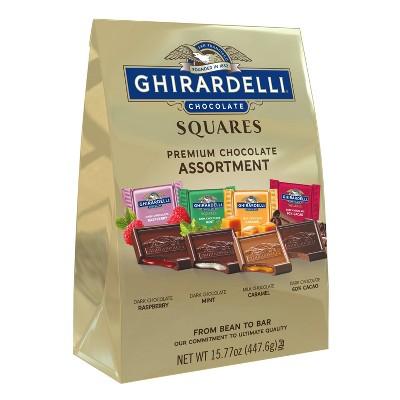 Ghirardelli Premium Assortment Chocolate Squares - 15.77oz