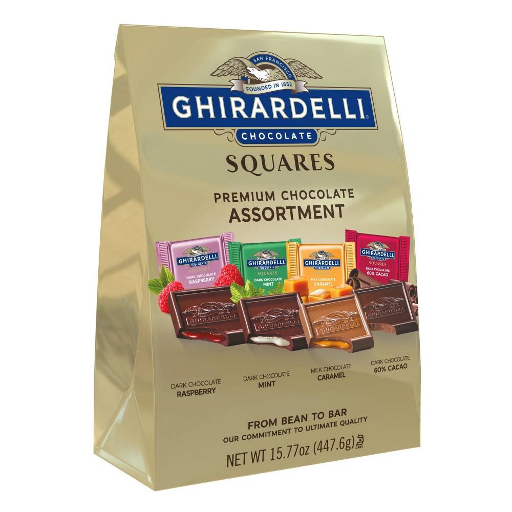 Ghirardelli Premium Assortment Chocolate Squares 15 77oz