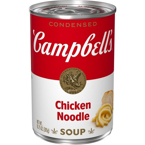 Campbell's Condensed Chicken Noodle Soup - 10.75oz - image 1 of 4