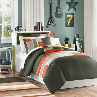 Olive Maverick Comforter Set King 4pc