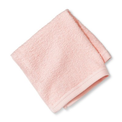 Everyday Solid Washcloth Light Pink - Room Essentials™