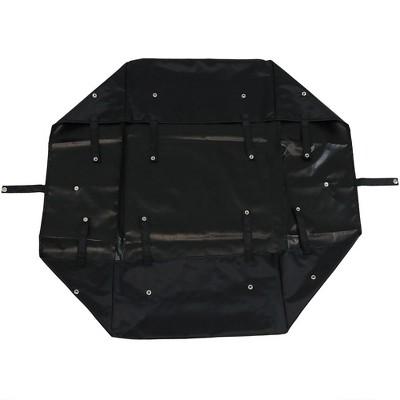 Sunnydaze Decor Heavy-Duty Dumping Utility Cart Liner - Black