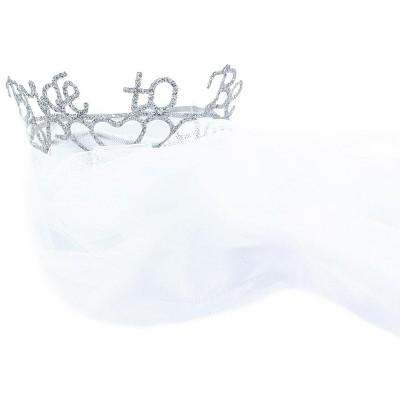 Elope Bride to Be Veil & Sparkle Tiara