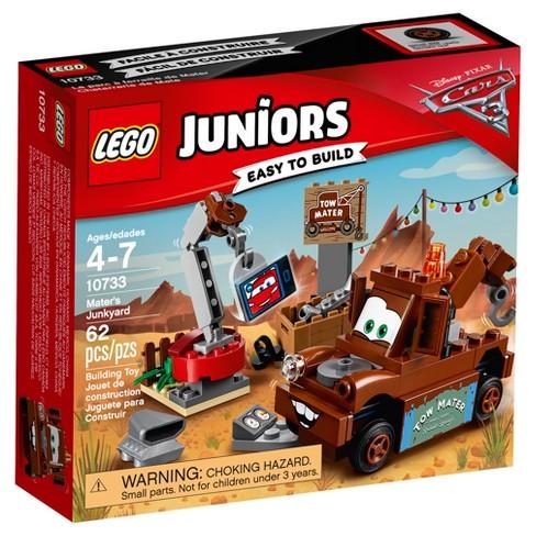 Lego Juniors Disneypixar Cars 3 Maters Junkyard 10733 Target