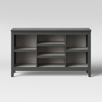 32  Carson Horizontal Bookcase Gray - Threshold™