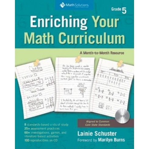 Enriching Your Math Curriculum, Grade 5 - by  Lainie Schuster (Paperback) - image 1 of 1