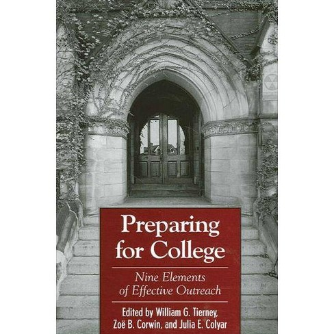 Preparing for College - (Suny Series, Frontiers in Education) (Paperback) - image 1 of 1