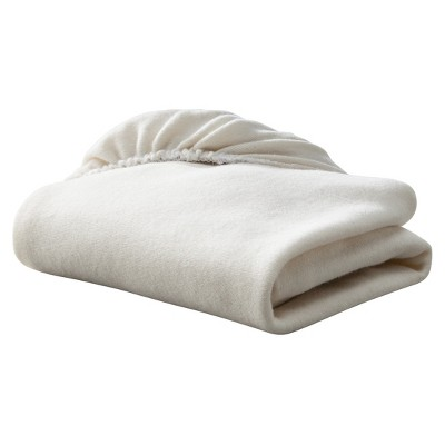 TL Care® Organic Cotton Knit Fitted Bassinet Sheet - Natural