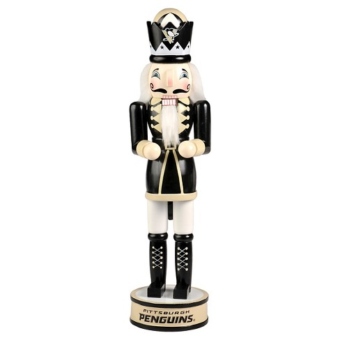Forever Collectibles Pittsburgh Penguins Decorative Holiday Wooden Nutcracker - image 1 of 1