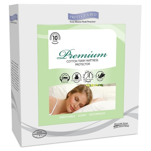 Protect-A-Bed Premium Fitted Mattress Protectors - image 1 of 3