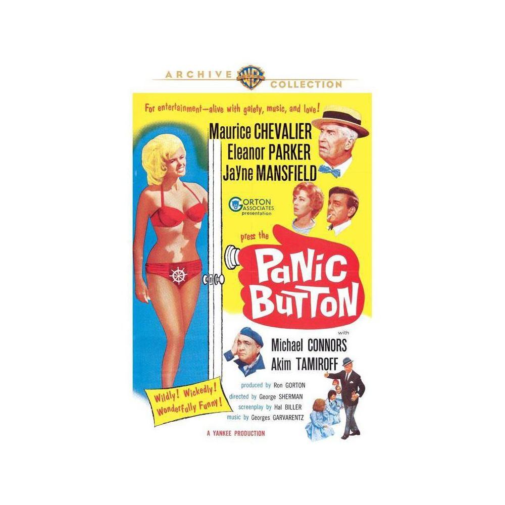 Panic Button Dvd 2015