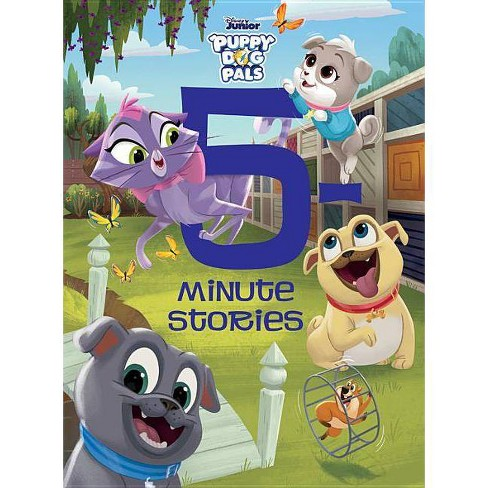 5-Minute Puppy Dog Pals Stories - (5-Minute Stories) (Hardcover) - image 1 of 1