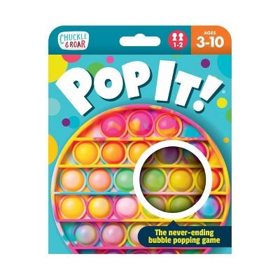 Chuckle & Roar Pop It! - Tie Dye