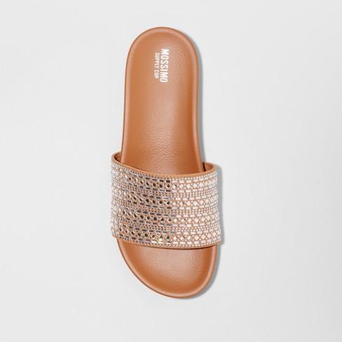 c97b15a5a28f Women s Daylan Slide Sandal - Mossimo Supply Co.™ Tan 8.5   Target