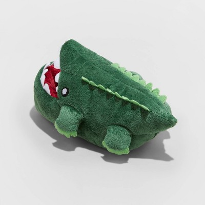 Boys' Addison Alligator Slippers - Cat & Jack™ Dark Green