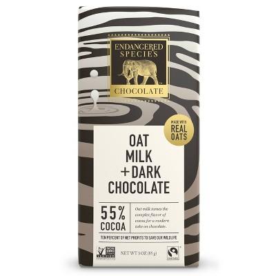Endangered Species Chocolate Oat Milk Dark Chocolate - 3oz