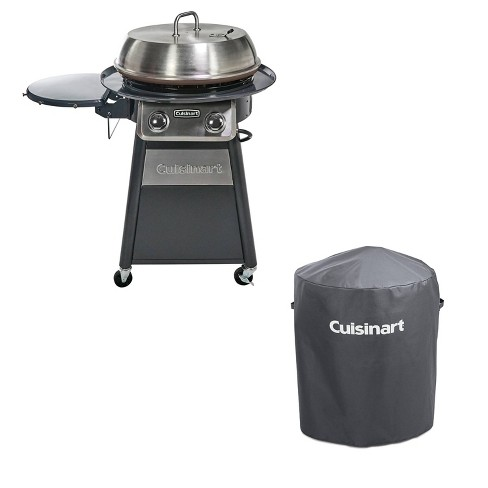 Cuisinart Outdoor 360 Griddle Cooking, Cuisinart Round Flat Top Grill