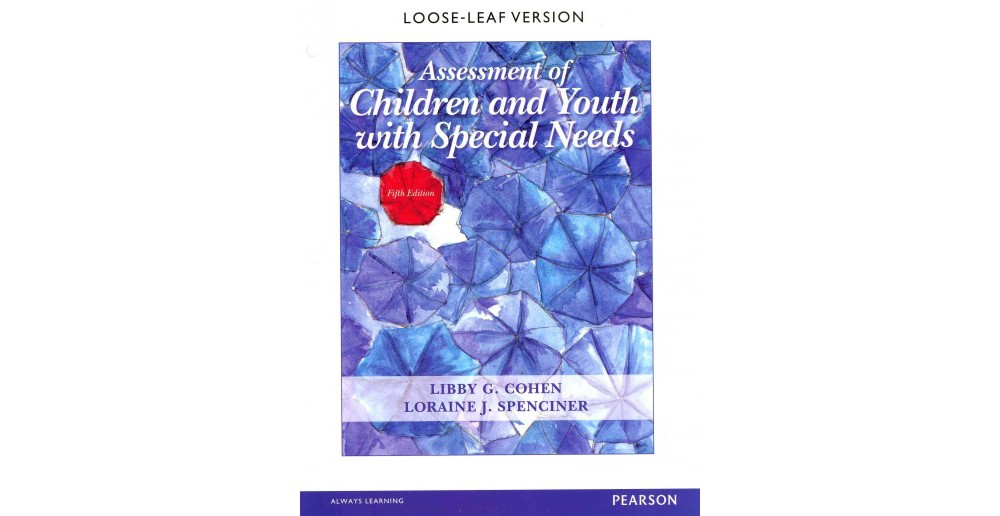 Pearson Education Assessment of Children and Youth With S...