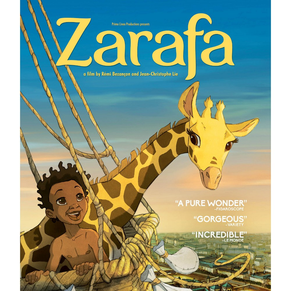 Zarafa (Blu-ray), Movies