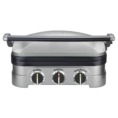 Cuisinart Griddler - Stainless Steel - GR-4NTG