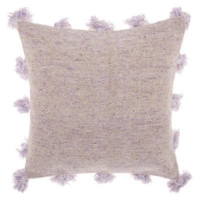 Tassel Border Throw Pillow - Mina Victory
