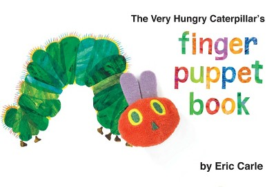 Very Hungry Caterpillar's Finger Puppet Book (Hardcover)(Eric Carle)