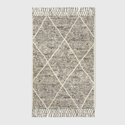 30  x 50  Desert Hatch Outdoor Rug Gray - Opalhouse™