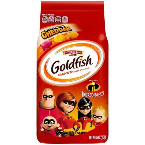 Goldfish Incredibles 2 Pepperidge Farm Baked Snack Crackers - 6.6oz - image 1 of 4