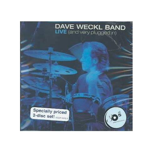 Dave Weckl - Dave Weckl Band: Live and Very Plugged In (CD) - image 1 of 1
