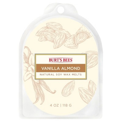 4oz Warmer Melts Vanilla Almond - Burt's Bees