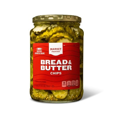 Bread and Butter Chips - 24oz - Market Pantry™