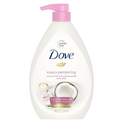 Dove Coconut Milk & Jasmine Petals Body Wash - 34oz