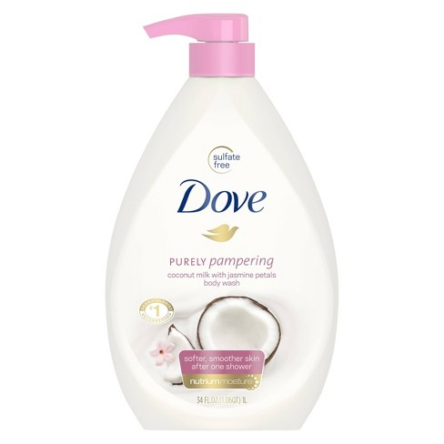 Dove Coconut Milk & Jasmine Petals Body Wash - 34oz - image 1 of 2