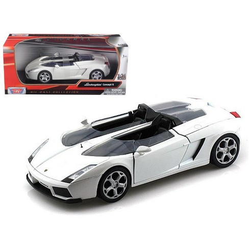 Lamborghini Concept S White 1 24 Diecast Car Model By Motormax Target