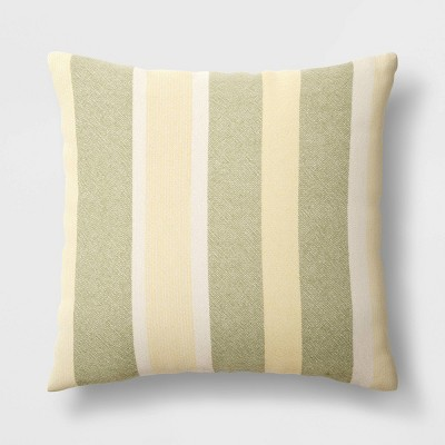 Oversized Woven Striped Throw Pillow - Threshold™