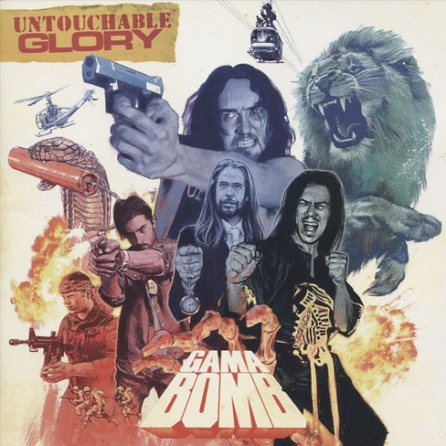 Gama bomb - Untouchable glory (CD) - image 1 of 1