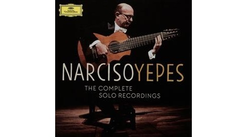 Narciso Yepes - Yepes:Complete Solo Recordings (CD) - image 1 of 1