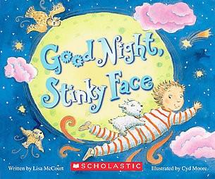 Goodnight, Stinky Face (Hardcover)(Lisa McCourt)