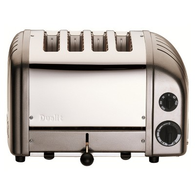 Dualit 4 Slice Toaster - Metallic Charcoal
